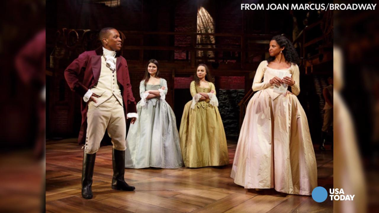 Hip-hop 'Hamilton' comes to Broadway