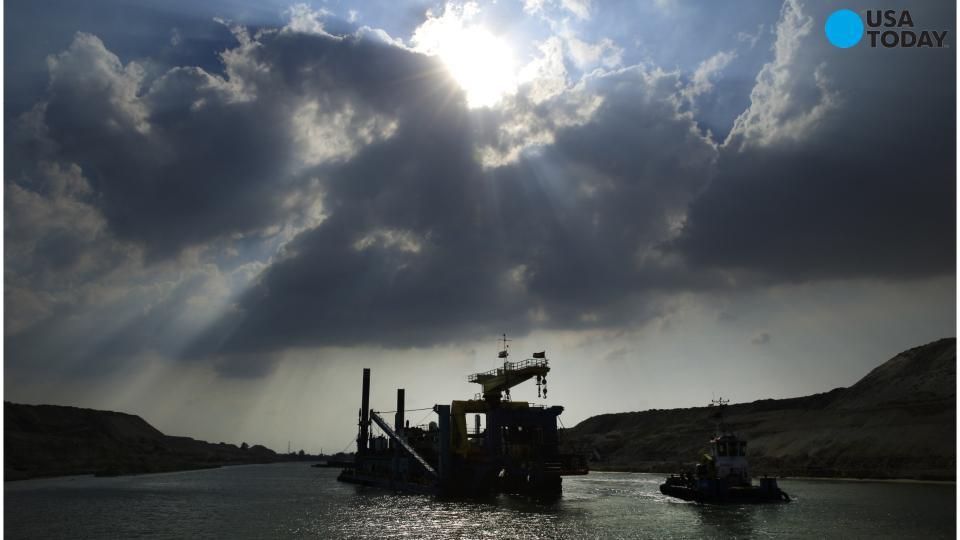 Egypt's new Suez Canal to be completed for Aug. 6 ceremony