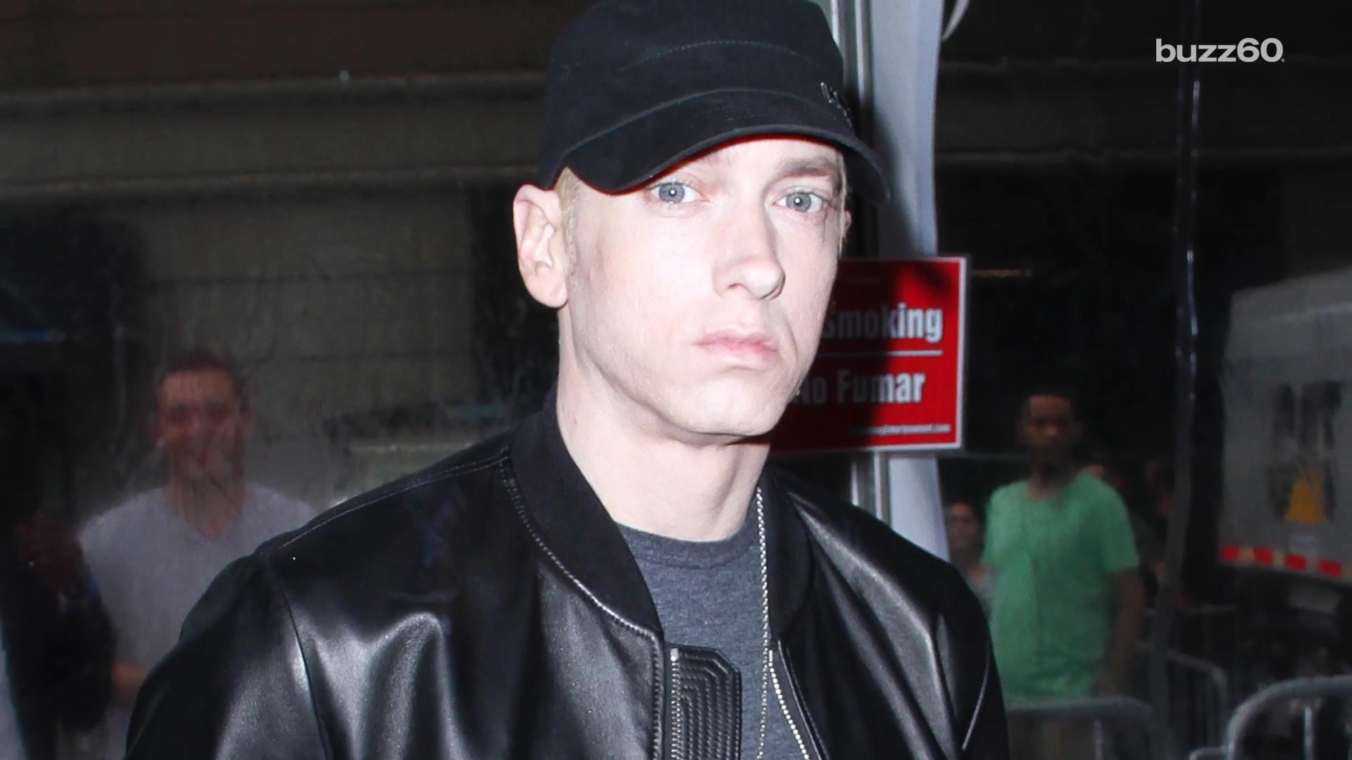 Eminem says he lost 80 pounds beating painkiller addiction
