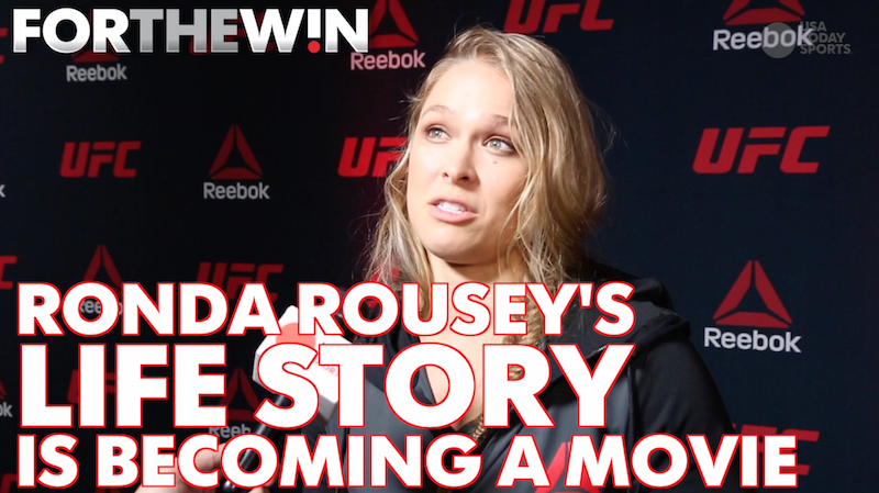 Ronda Rousey's life to be made into a movie starring Ronda Rousey