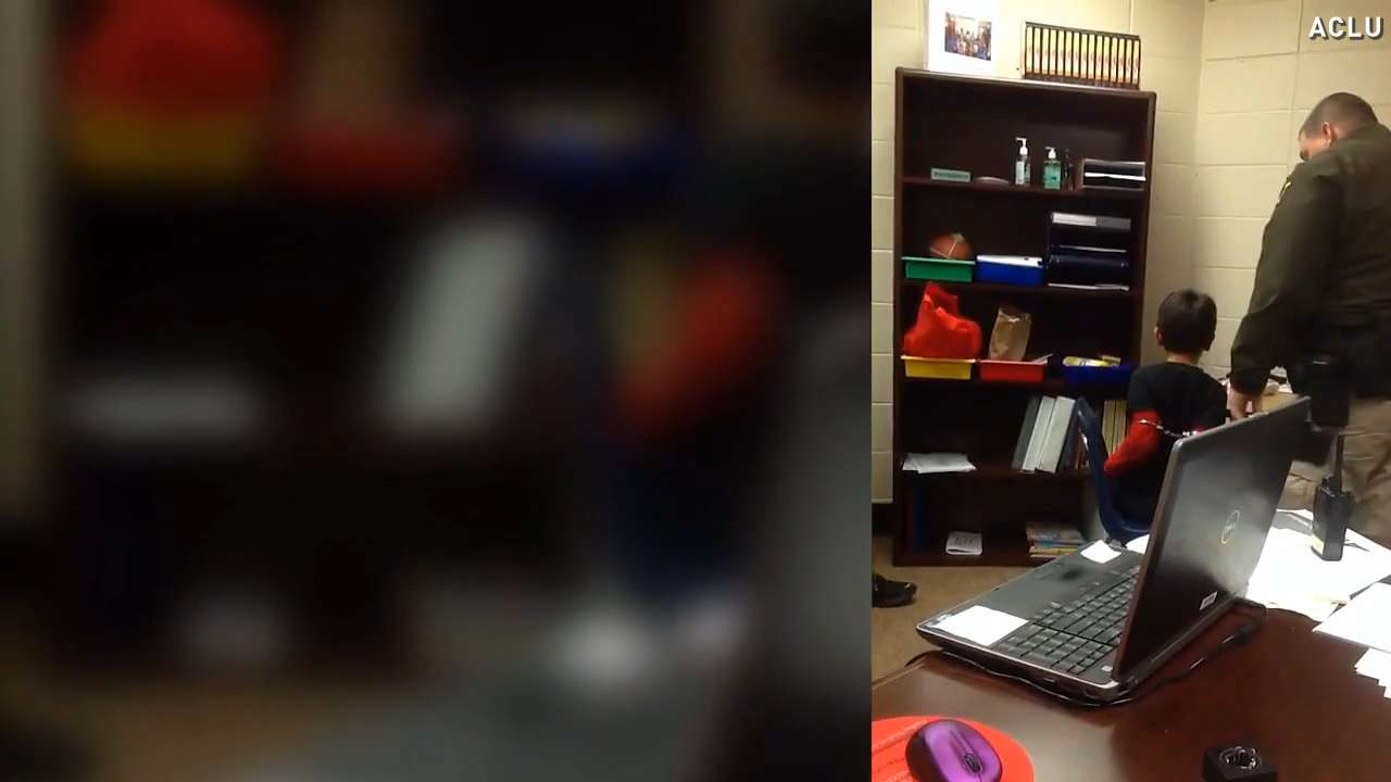Video shows officer handcuffing crying 3rd grader