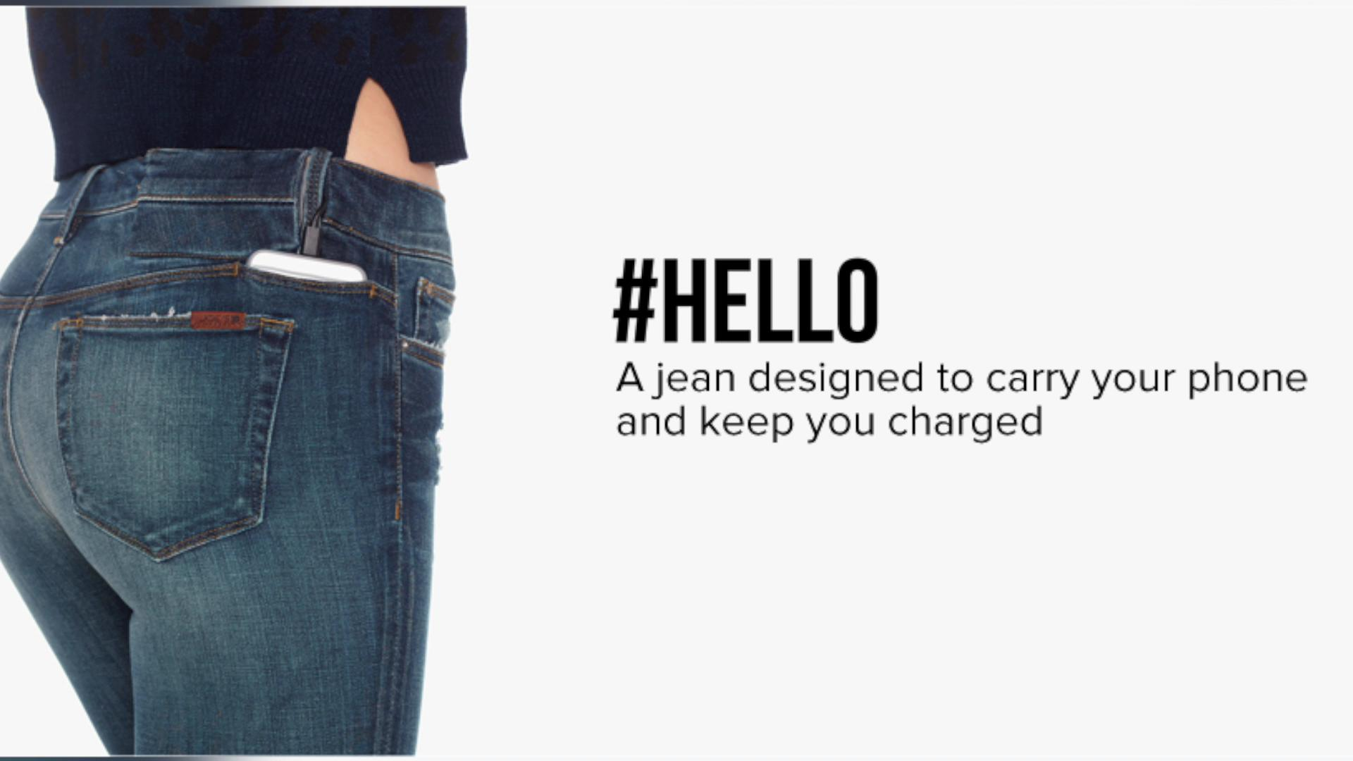 These jeans can charge your iPhone