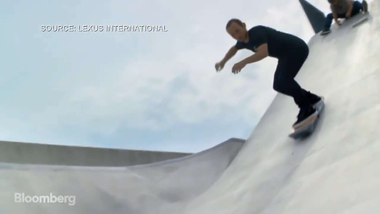 Introducing the world's first working hoverboard