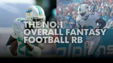 Who is the No. 1 overall fantasy football RB?