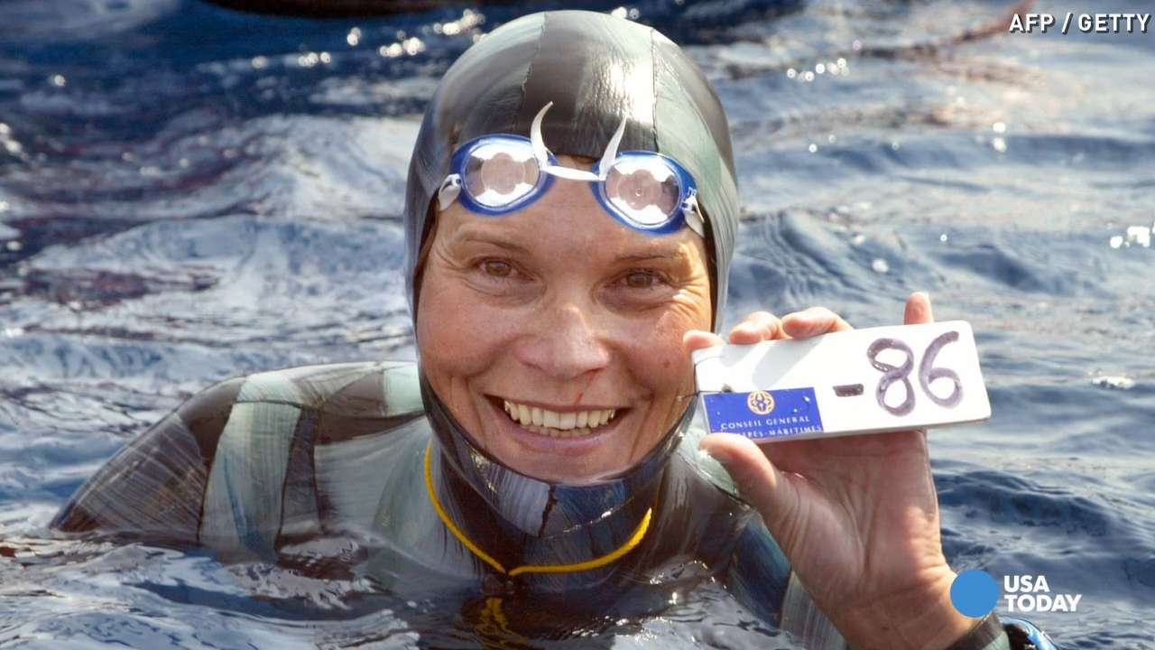 World champion free diver Natalia Molchanova disappears