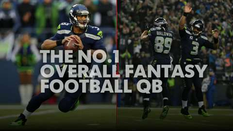 Who should be No. 1 QB drafted in fantasy football?