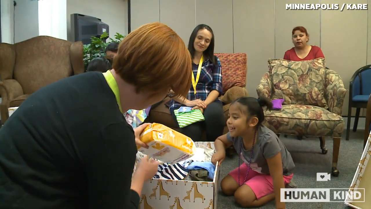Mom who's been there helps teen moms with special gift