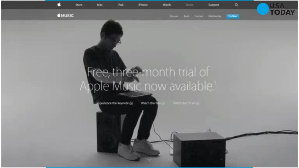Apple Music hooks 11 million trial members