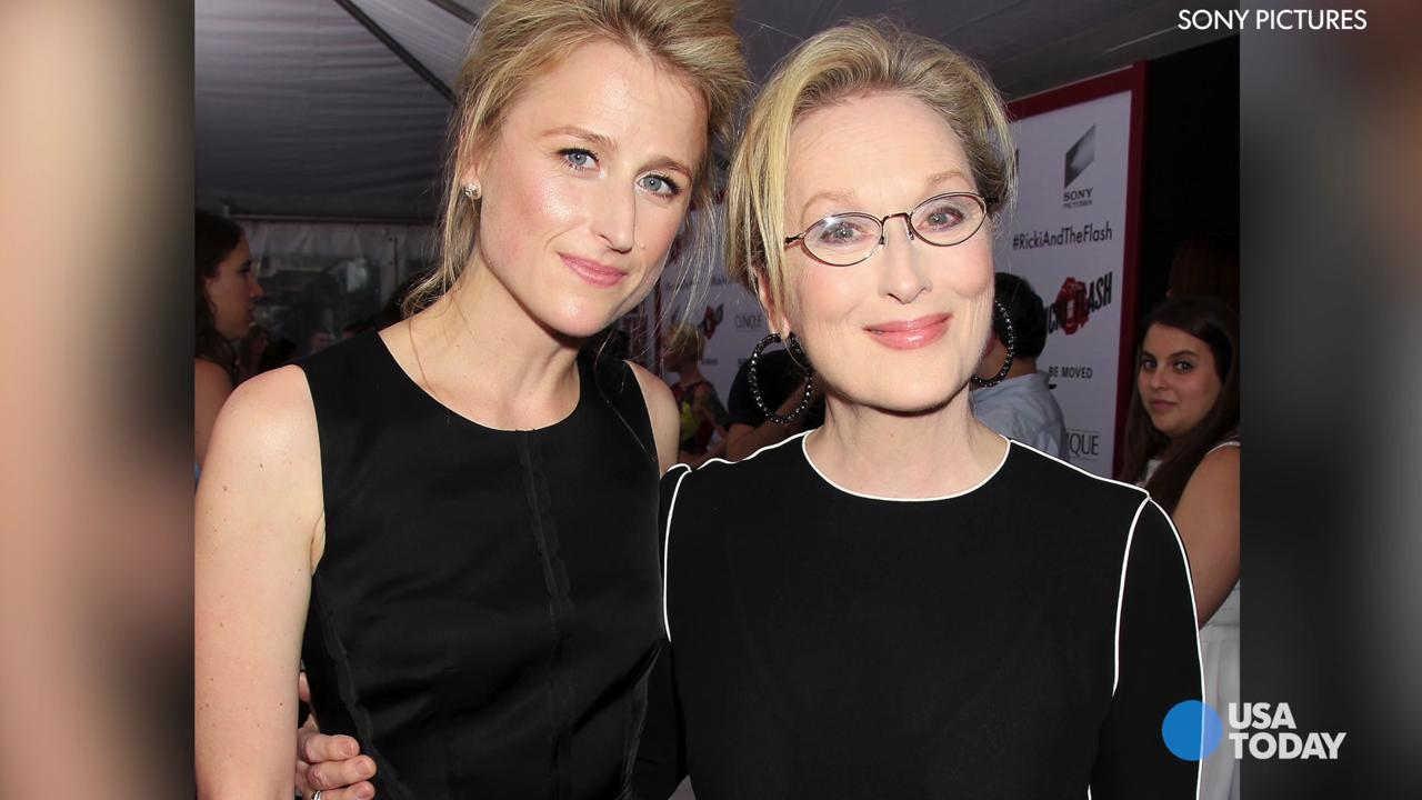 Mamie Gummer, Rick Springfield and Meryl Streep are co-stars in 'Ricki and the Flash.'