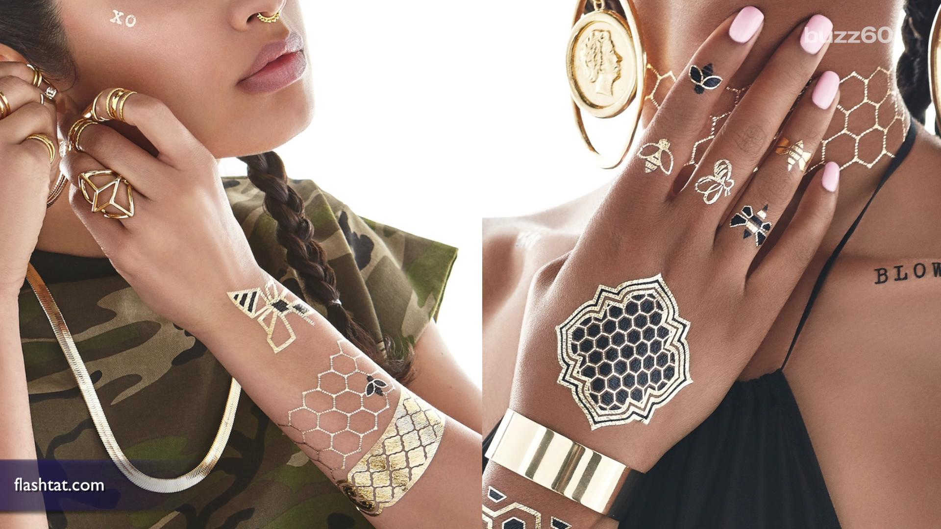 Beyonce launches sexy temporary tattoo line for Adult temporary tattoo