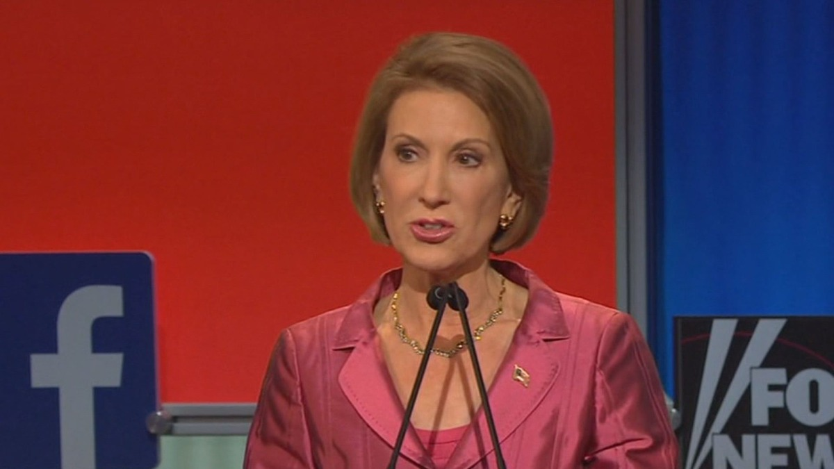 Undercard Debate: Did Carly Fiorina beat the boys?