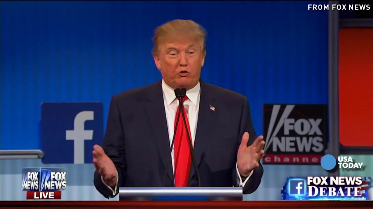 True News Usa >> Donald Trump Best Debate Moments In Under 2 Minutes