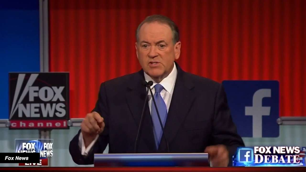 Huckabee says pimps, prostitutes can help save social security
