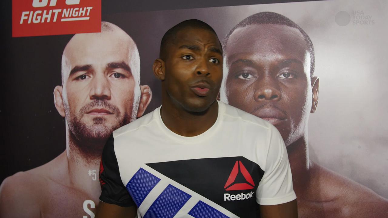 Jonathan Wilson gives credit to a strong gym for his superior peformance in the Octagon