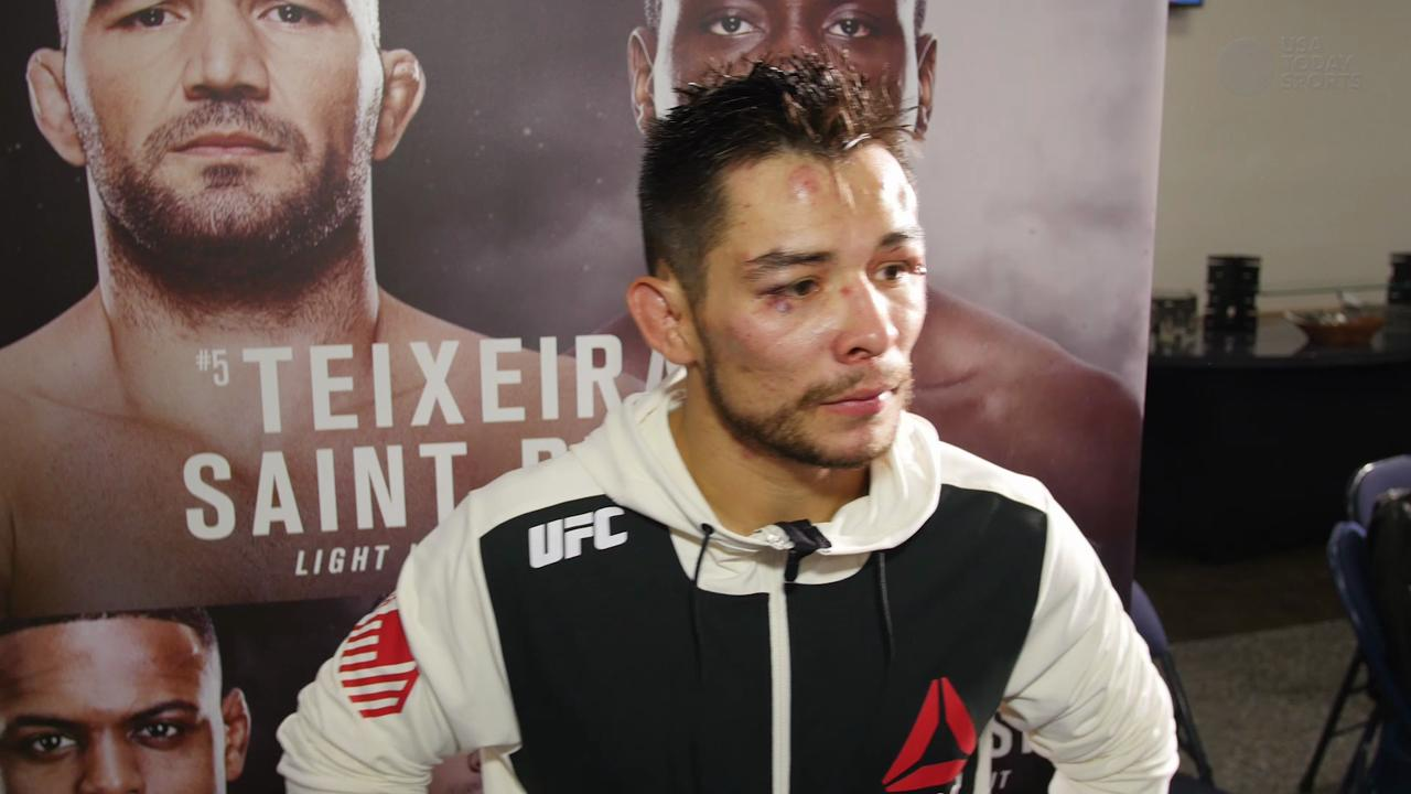 Ray Borg overcomes adversity to get the decision victory