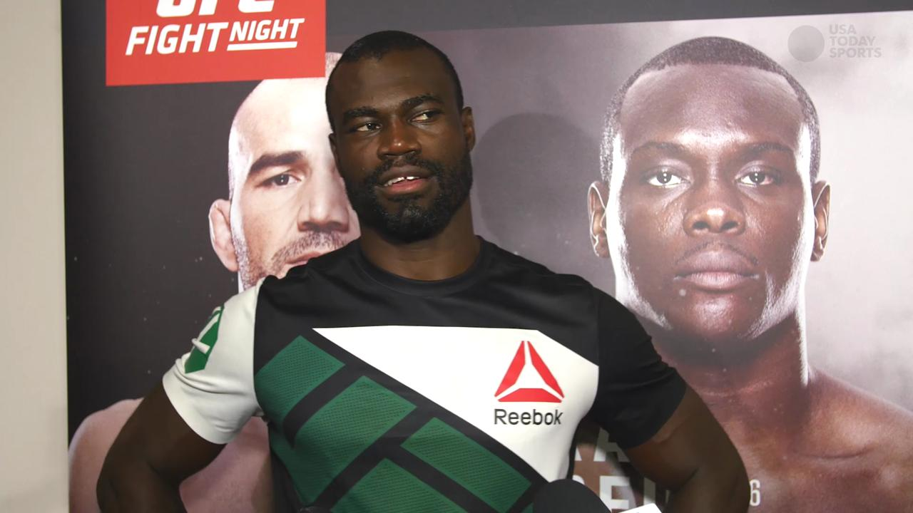 Urijah Hall hopes to leave a legacy that goes beyond the Octagon