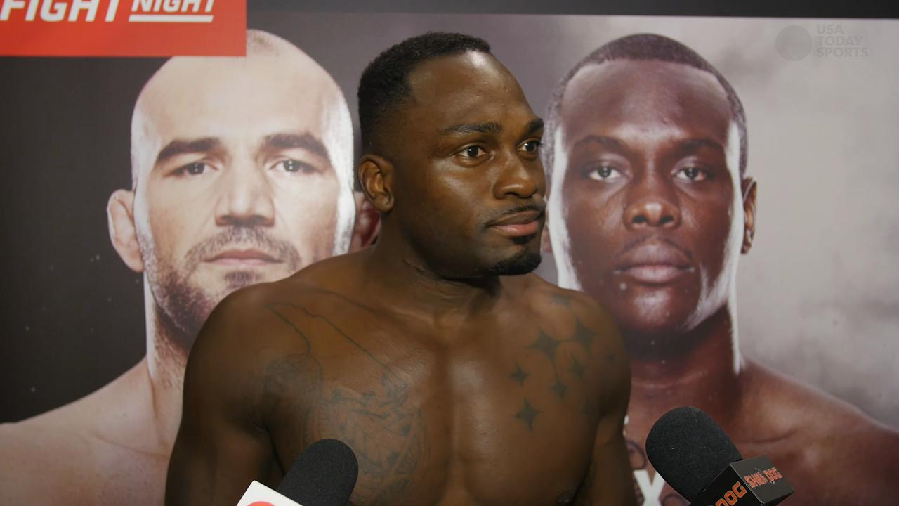 Derek Brunson proves all the internet doubters wrong and gets the TKO finish