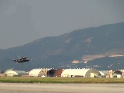Raw: US Counter-ISIL Operation Deploys to Turkey