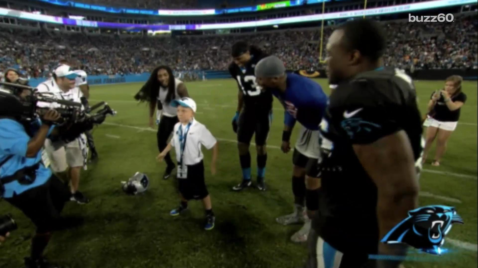 6-year-old beating cancer one dance move at a time