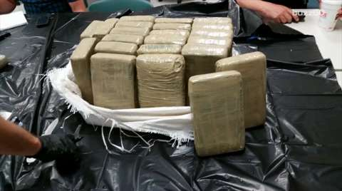 Cop accidentally catches 50 pounds of cocaine while fishing