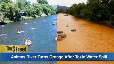 EPA spills toxic waste water in Colorado, effects on Animas River to last two years