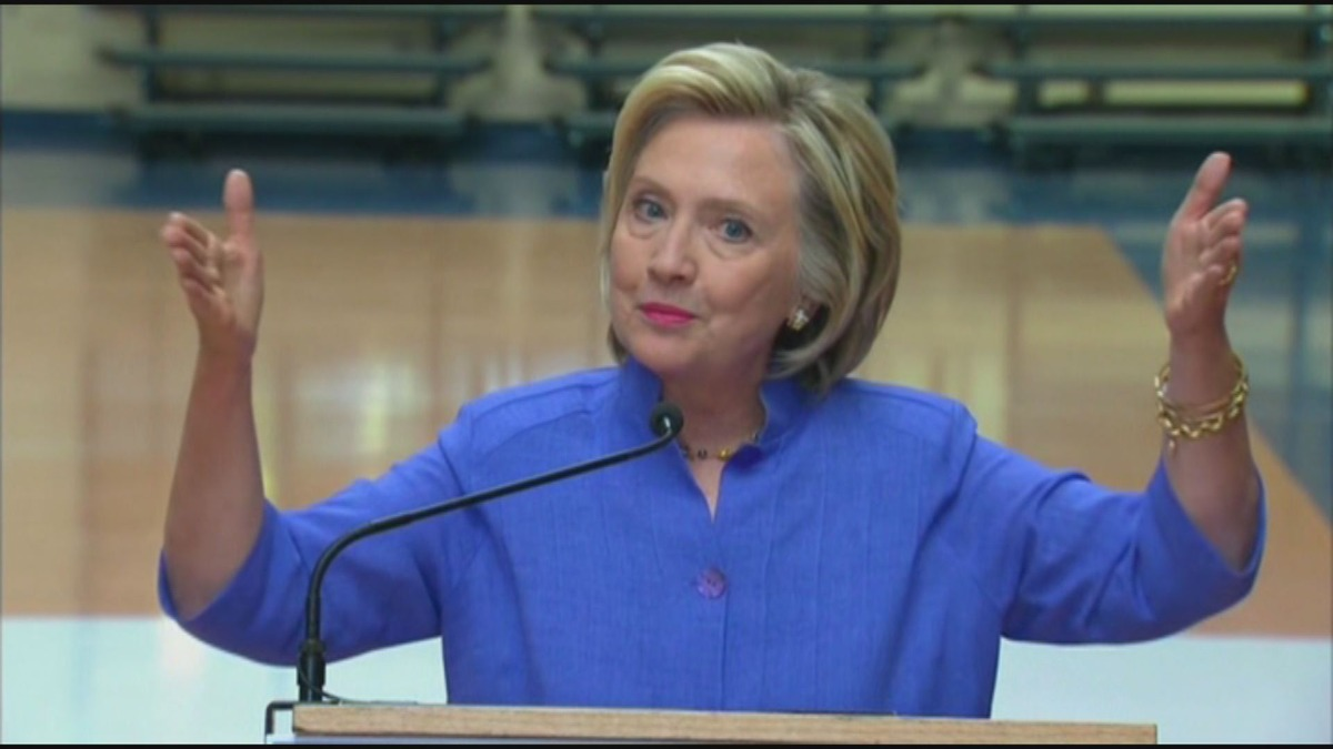 Hillary Clinton Takes on the GOP, Not Just Donald Trump