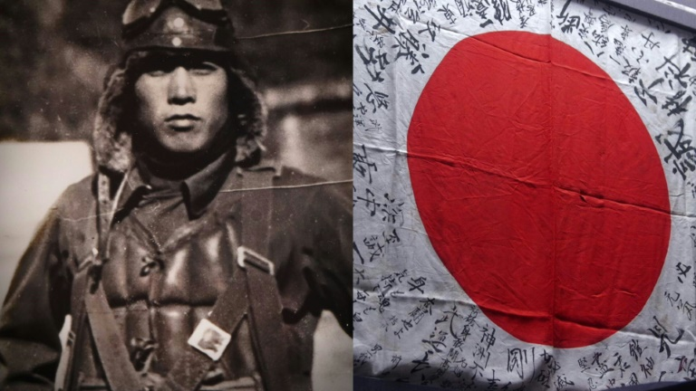 Japan's surviving WWII soldiers fight for peace