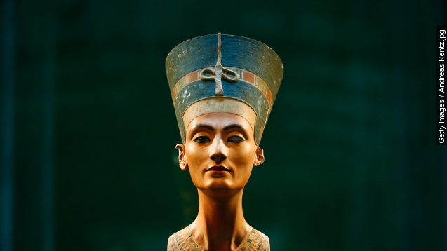 Is Queen Nefertiti's lost grave hidden in King Tut's Tomb?