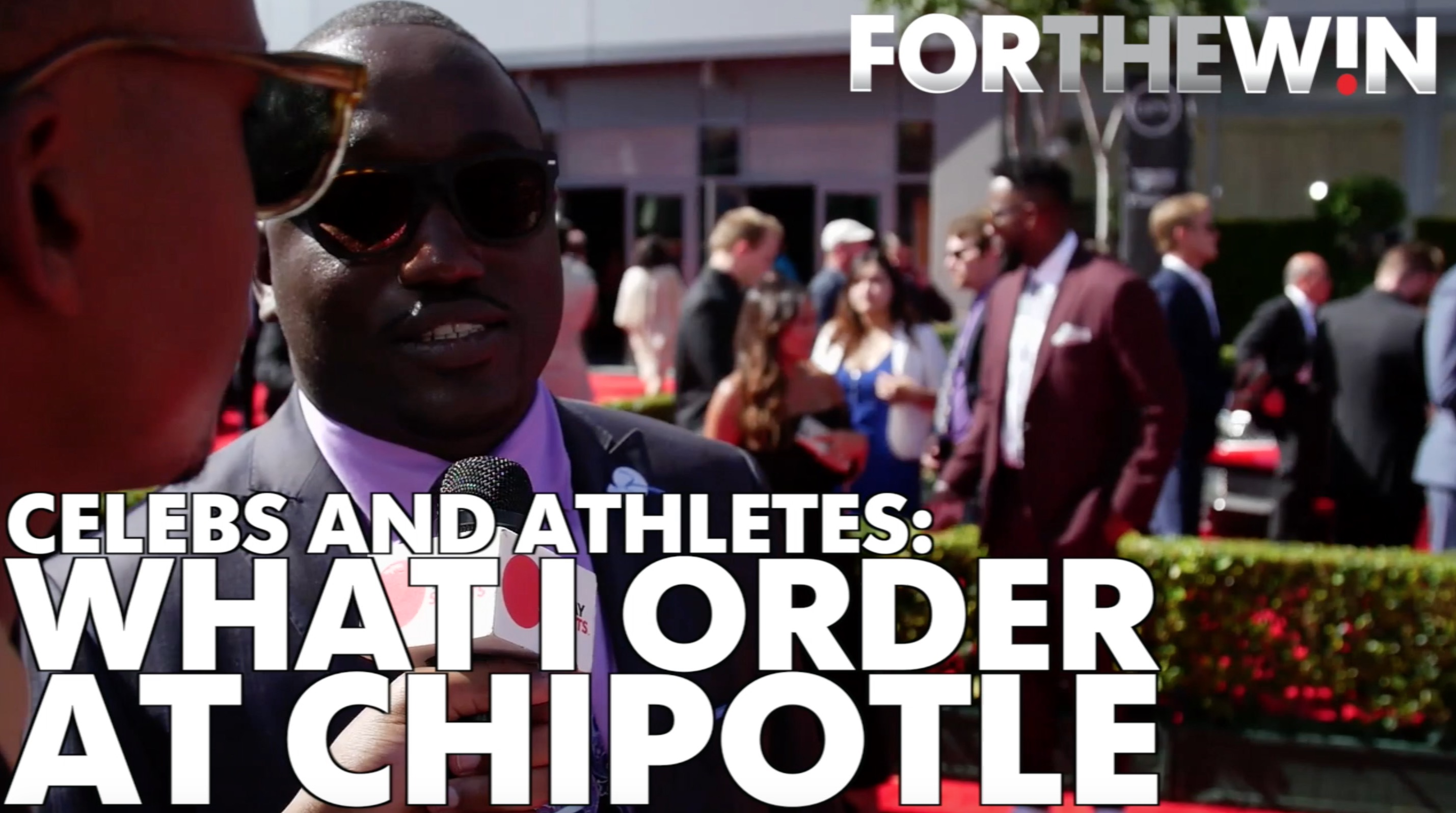 Celebs and athletes: What I order at Chipotle