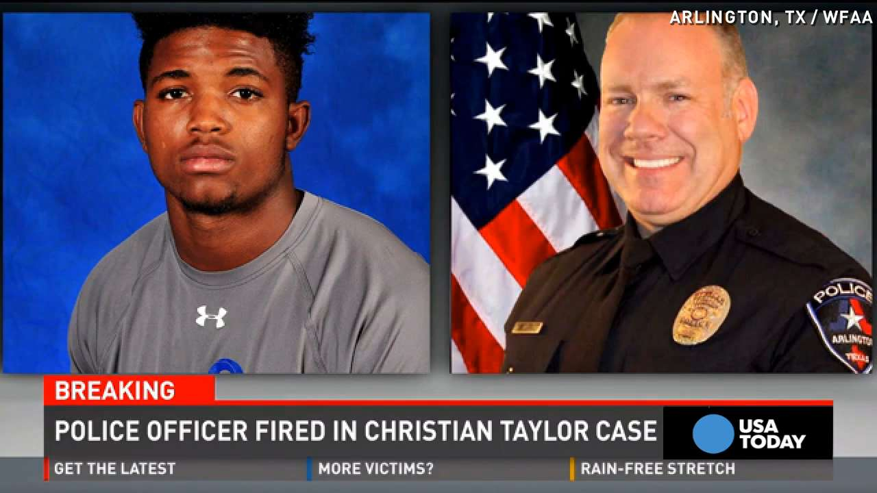 Texas officer fired after fatally shooting unarmed teen