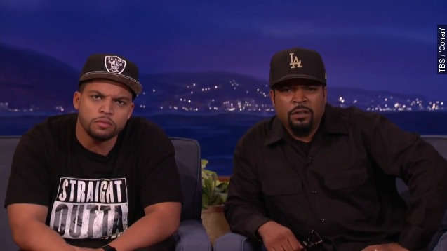 watch ice cubes son nail his dads trademark scowl
