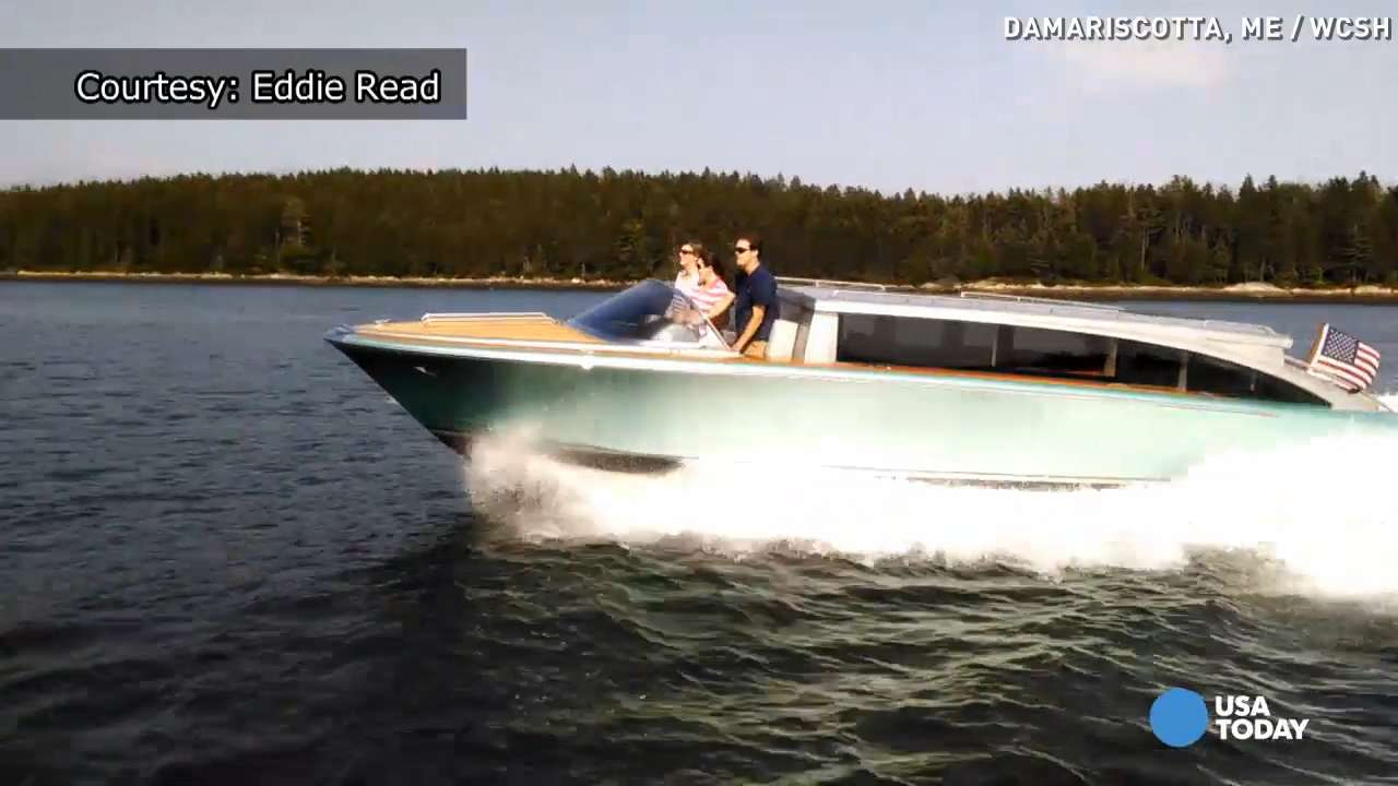 Some yachts are so big, owners need this 'limo'