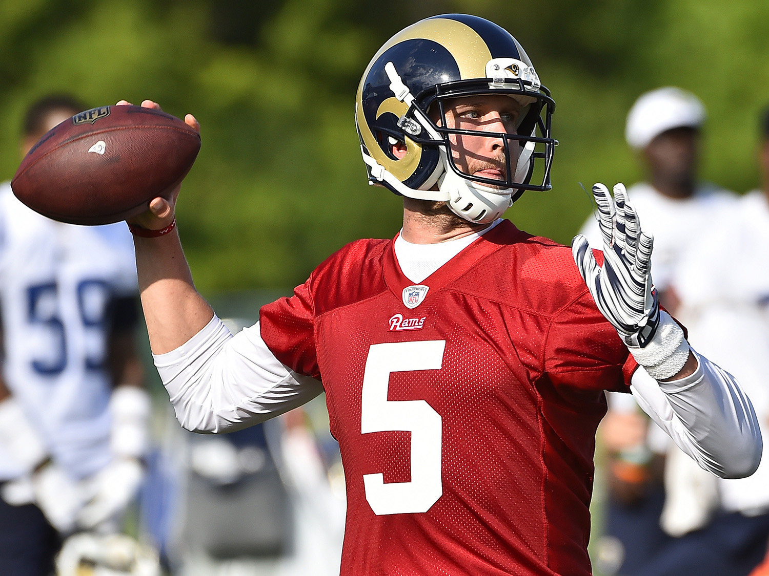 Rams' revamped offense under microscope