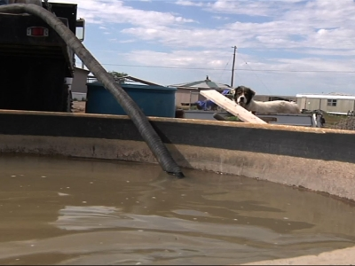 Water Trucked in for Worried Navajo Ranchers