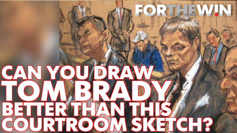 Can you draw Tom Brady better than a sketch artist?