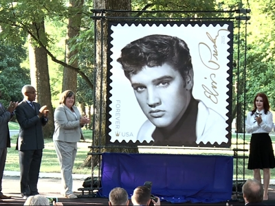 Elvis Presley 'Forever' Stamp Going On Sale