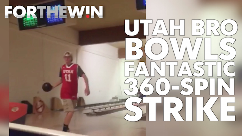 Watch some of the best bowling trick shots in the world