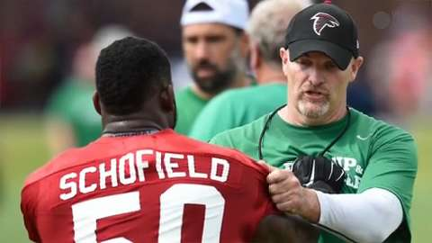 Falcons begin new era under rookie coach Dan Quinn