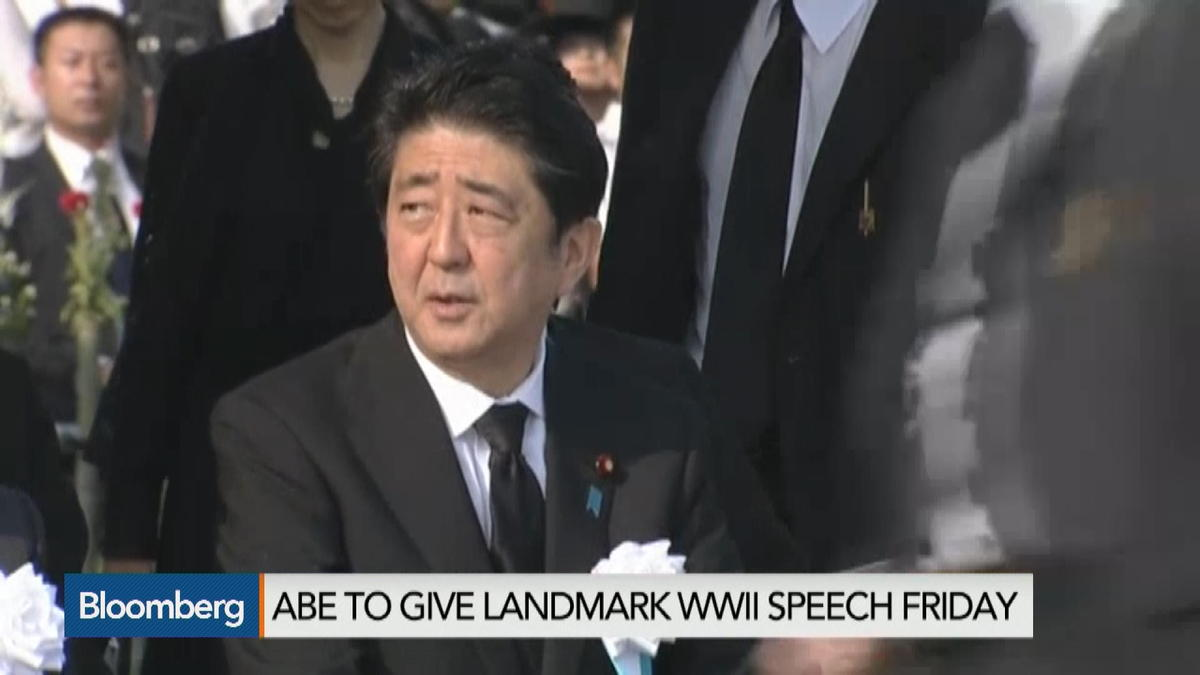 Abe to Reveal Wartime Legacy, but Will He Apologize?