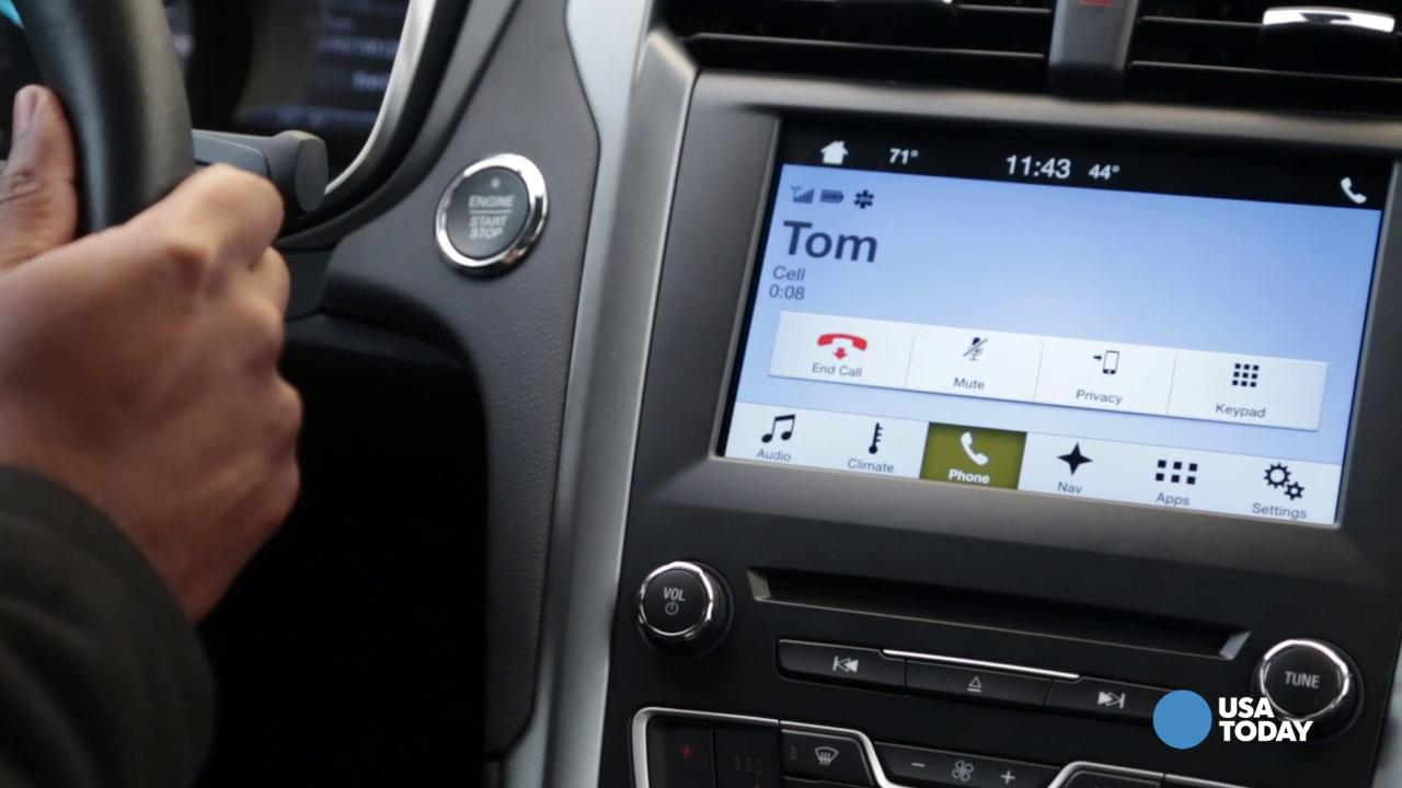 Ford shows off Sync 3 Infotainment System