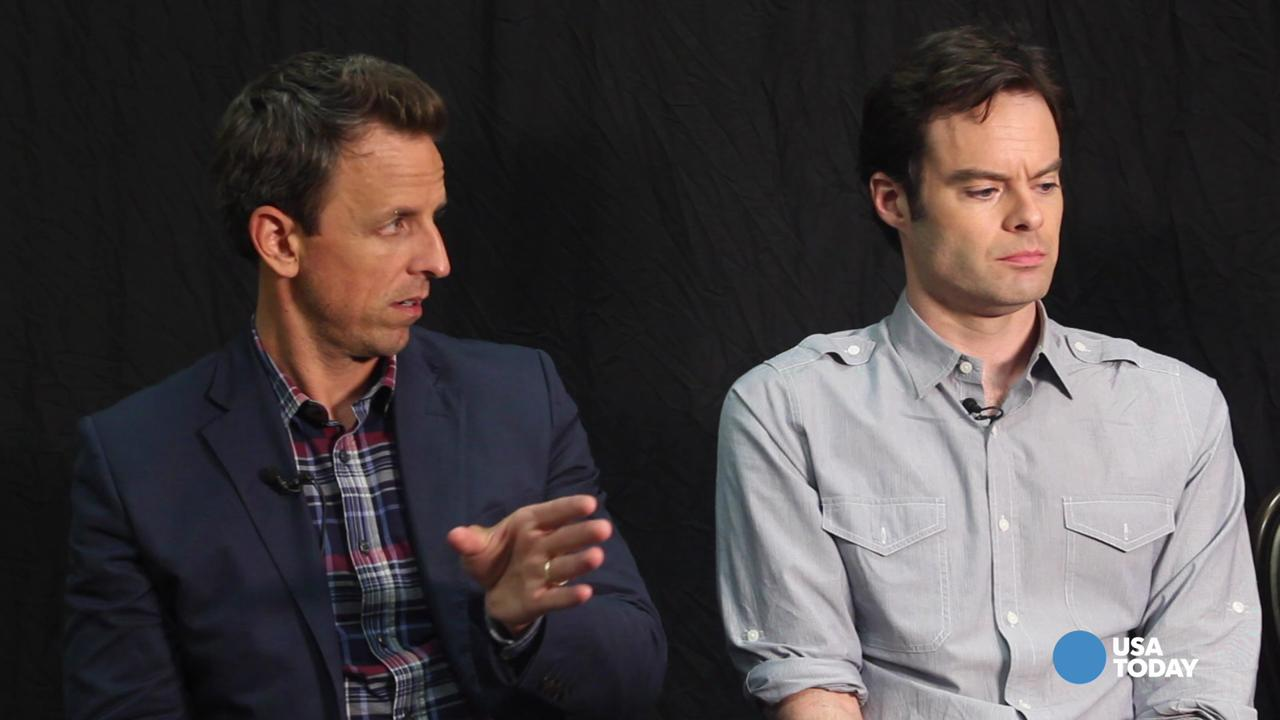5 Questions with Seth Meyers, Bill Hader and Fred Armisen