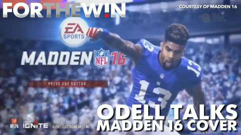 Odell Beckham Jr. talks Madden cover
