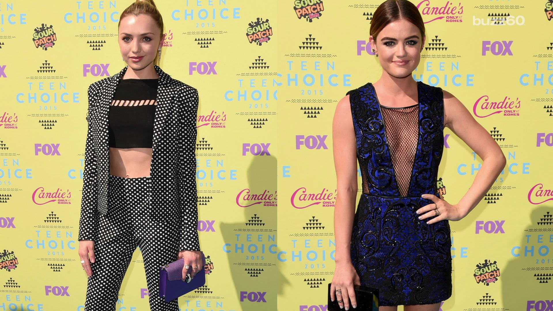 Best and worst dressed at Teen Choice Awards
