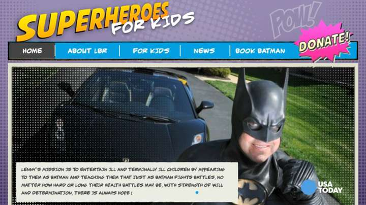 Real life Batman killed in Maryland car accident