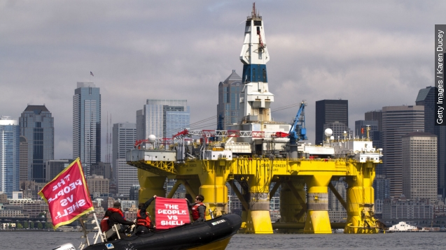 Shell's Arctic drilling permit upsets environmental groups