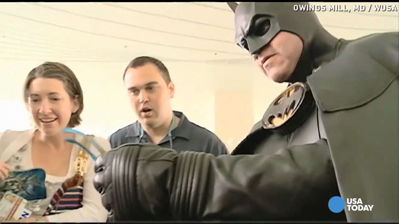 Beloved real-life 'Batman' killed in car accident