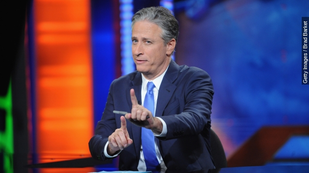 "Former ""Daily Show"" host Jon Stewart will be at WWE's SummerSlam Sunday."