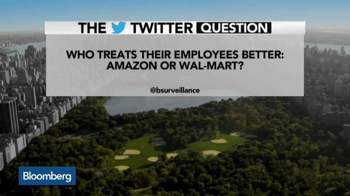 Who treats their employees better: Wal-Mart or Amazon?