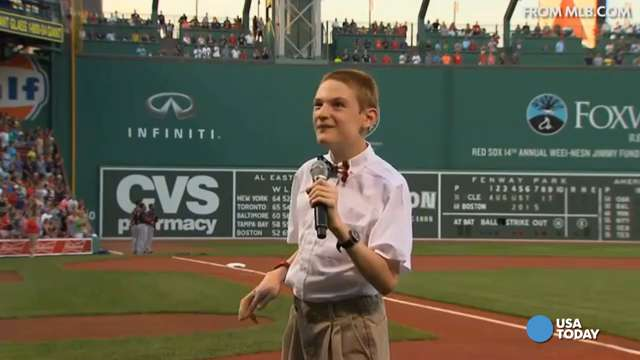 Blind teen with autism rocks Star-Spangled Banner