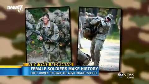 Two women passed Army Ranger School; here's how hard it is